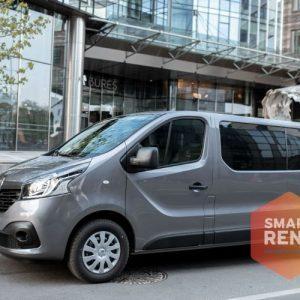 Mikroautobusų nuoma Renault Trafic 2019 9 vietos